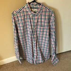 Old Navy Men's Long Sleeve Button Down Shirt - L